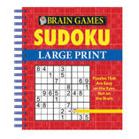 Brain Games™ Large Print Sudoku