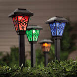Color Changing Solar Light, Set of 3