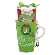 Dark Chocolate Cocoa Mug Set