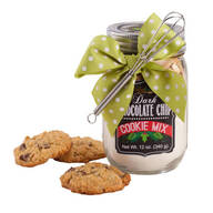 White Chocolate Cranberry Mason Jar Cookie Mix