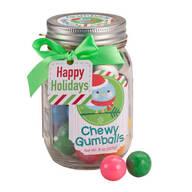 Chewy Gumballs in Mason Jar