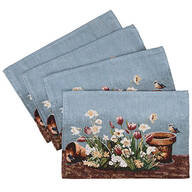 Spring Floral Placemats, Set of 4
