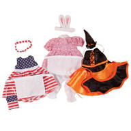 Little Sister Doll Holiday Dresses