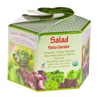 Salad Greens Patio Garden
