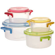 Microwave Pots - 8 Piece Set