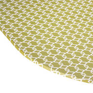 Lattice Vinyl Elasticized Table Cover