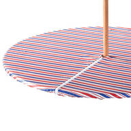 Patriotic Zippered Elasticized Umbrella Table Cover