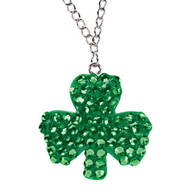 St. Patrick's Day Bling Necklace