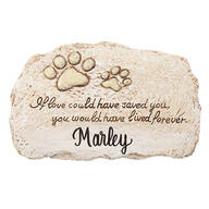 Personalized Forever Pet Memorial Stone