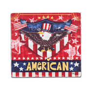 """Proud To Be American"" Visor Clip"
