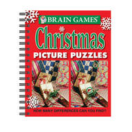 Brain Games™ Christmas Picture Puzzles Book