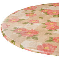 Spring Poppy Vinyl Elasticized Tablecovers by Home-Style Kitchen™
