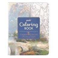 Thomas Kinkade Coloring Book