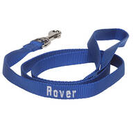 Personalized Nylon Dog Leash - 4'x 5/8""