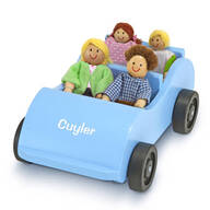 Melissa & Doug® Personalized Wooden Car & Passengers