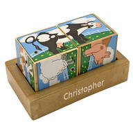 Melissa & Doug® Personalized Farm Sounds Blocks