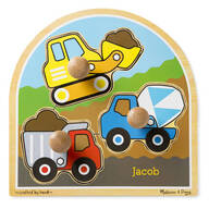 Melissa & Doug® Personalized Construction Site Puzzle