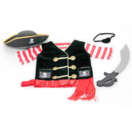 Melissa & Doug® Personalized Pirate Costume Set