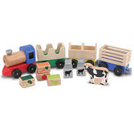 Melissa & Doug® Wooden Farm Train