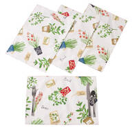 Potted Herbs Placemats by OakRidge® Kitchen Gallery, Set of 4