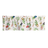 Herb & Pots Valance by OakRidge® Kitchen Gallery