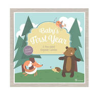 Baby's First Year Woodland Animals Calendar
