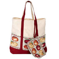Harvest Tapestry Tote with Wristlet