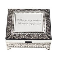 Personalized Antique Rectangular Keepsake Box