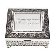 Personalized Antique Rectangular Keepsake Box