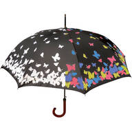 Color Changing Butterflies Umbrella