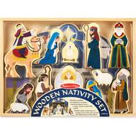 Melissa & Doug® Wooden Nativity Set