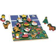 Melissa & Doug® Christmas Tree Chunky Puzzle