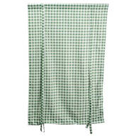 Gingham Tie-Up Shade