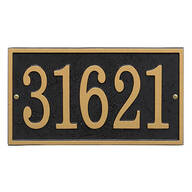 Fast & Easy Rectangle House Number Plaque