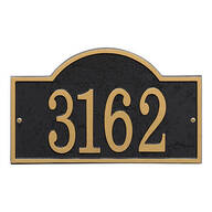 Fast & Easy Arch House Number Plaque