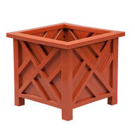 Terra Cotta Chippendale Planter