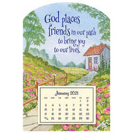 Mini Magnetic Friends in our Paths Calendar