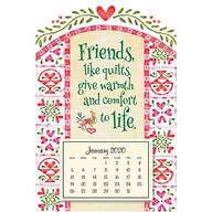 Quilts Mini Magnetic Calendar