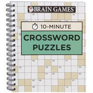 Brain Games® 10-Minute Crossword Puzzles