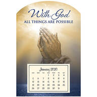 Mini Magnetic Calendar Praying Hand