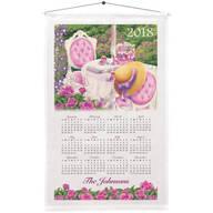 Personalized Victorian Gazebo Calendar Towel