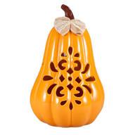 Large Ceramic Pumpkin