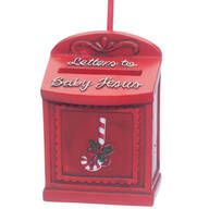 """Letters to Baby Jesus"" Ornament"