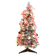 3-Ft. Candy Cane Frosted Pull-Up Tree by Northwoods Greenery™