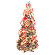 4-Ft. Candy Cane Frosted Pull-Up Tree by Northwoods Greenery™