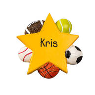 Personalized Sports Magnet