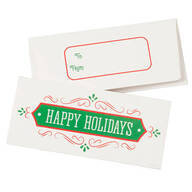 Christmas Money Card Holders, Set of 12