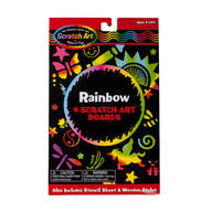Scratch Art® By Melissa & Doug™ Rainbow Pack