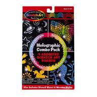 Scratch Art® By Melissa & Doug™ Holographic Pack