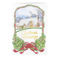 Christmas Blessing Card - Set of 20